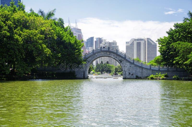 De dag van Shenzhen China van het Lizhipark stock foto's
