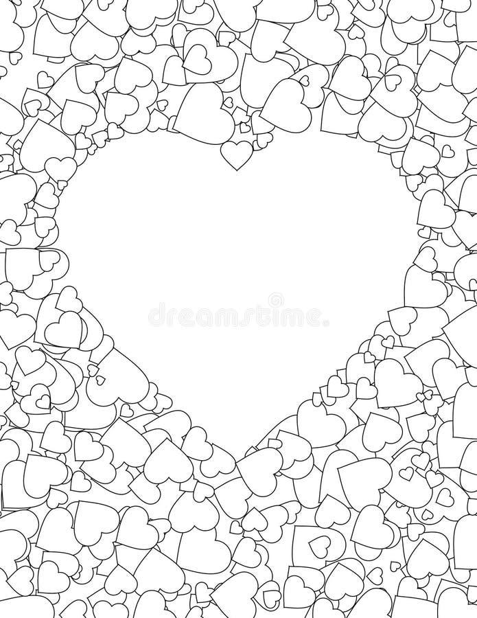 De Dag van valentijnskaarten stock illustratie