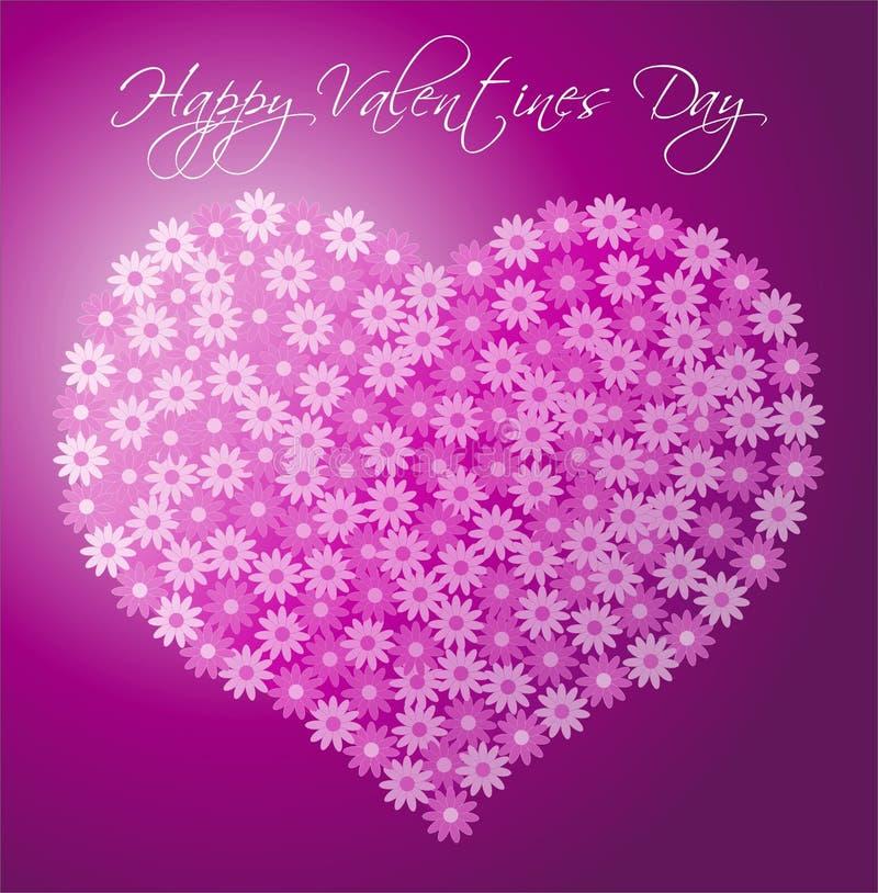 De Dag van valentijnskaarten vector illustratie