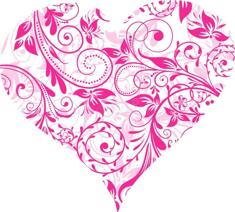 De Dag van valentijnskaarten, hart, achtergrond,   royalty-vrije illustratie
