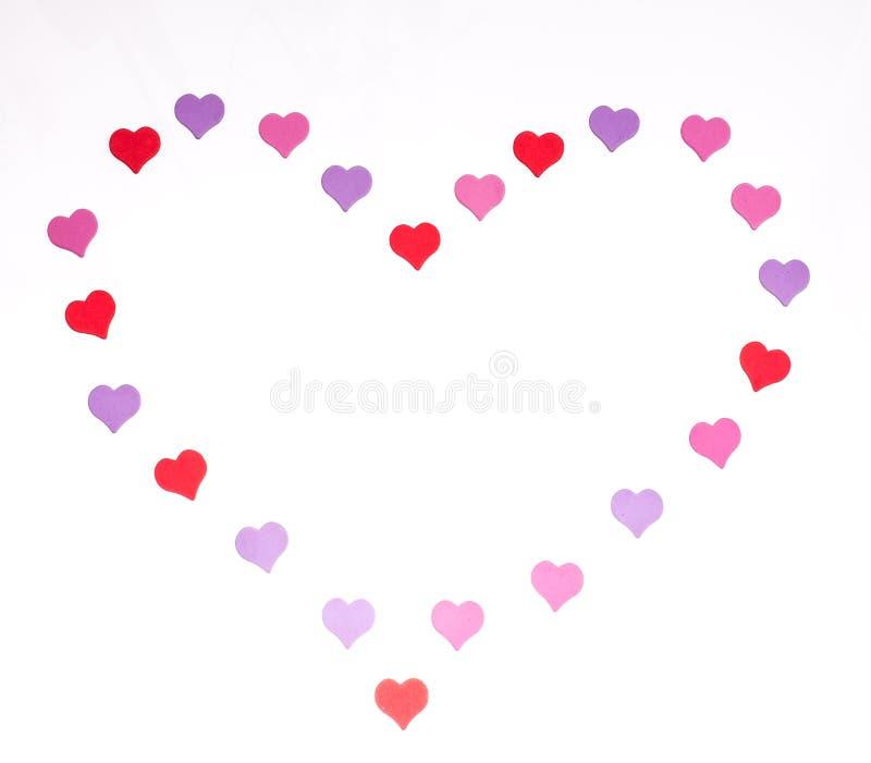De Dag van Valentine ` s, 14 Februari Inschrijvingen over liefde royalty-vrije stock foto