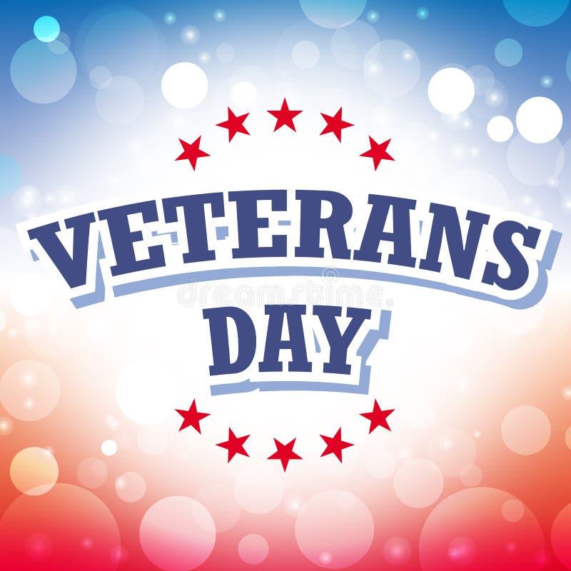 De dag van veteranen royalty-vrije illustratie