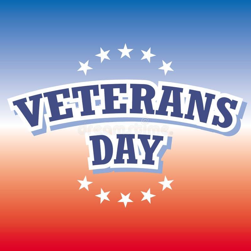 De dag van veteranen vector illustratie