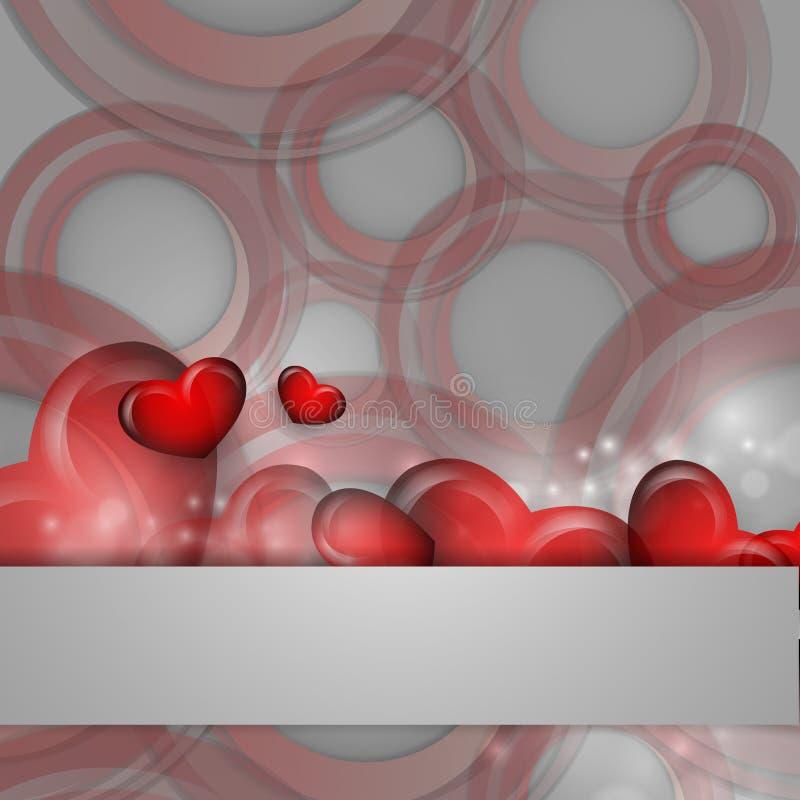 De Dag vectorachtergrond van Valentine stock illustratie