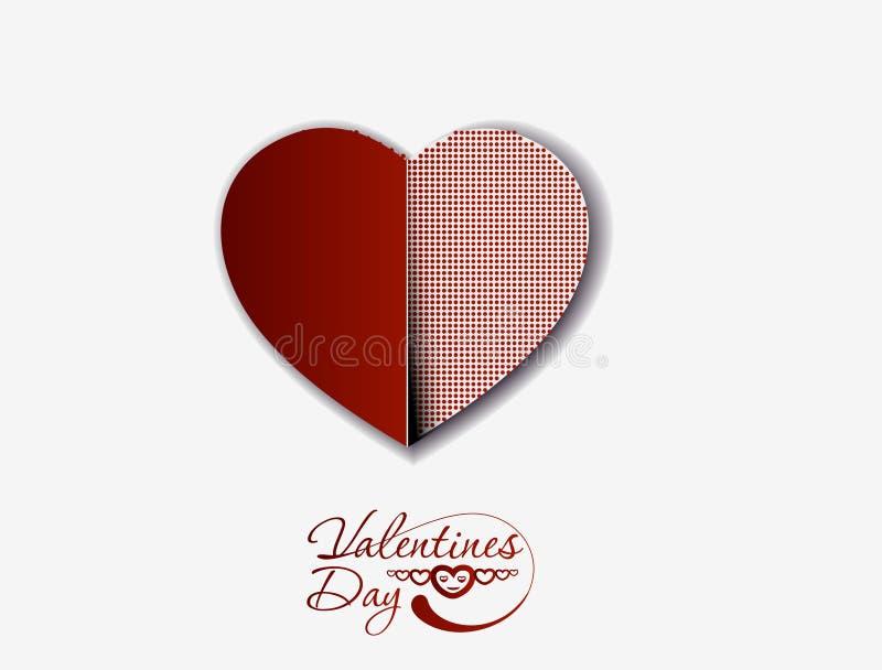 Download De Dagachtergrond Van De Valentijnskaart Vector Illustratie - Afbeelding: 23172165