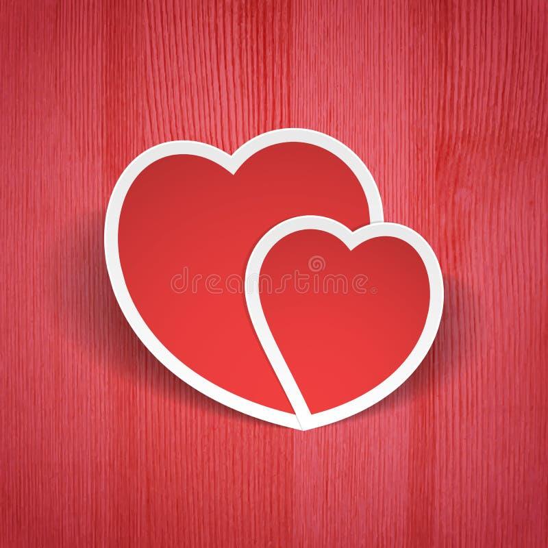 De Dagachtergrond van Valentine stock illustratie