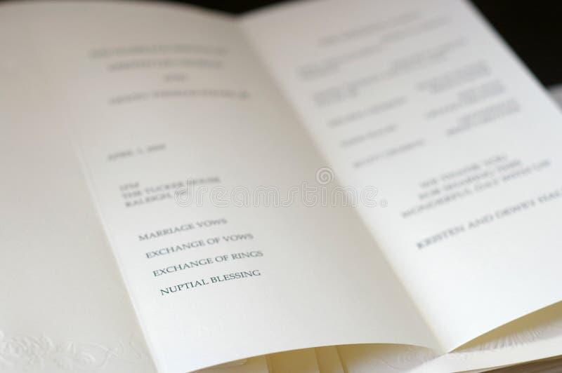 De dagceremonie van het huwelijk royalty-vrije stock afbeeldingen