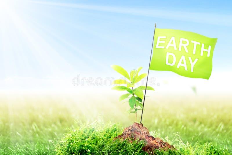 De dagconcept van de aarde stock afbeeldingen