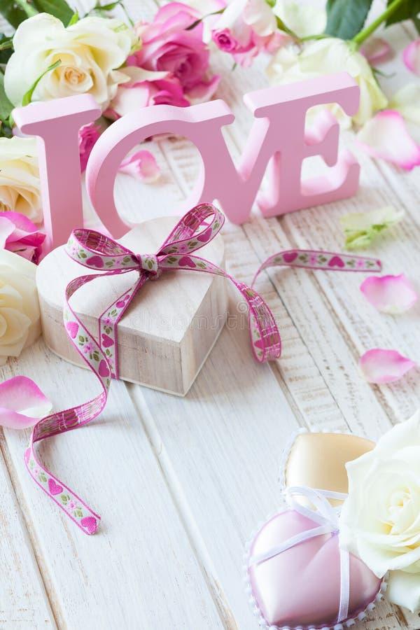 De dagconcept van de valentijnskaart royalty-vrije stock afbeelding