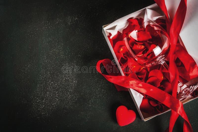 De dagconcept van de valentijnskaart ` s royalty-vrije stock fotografie
