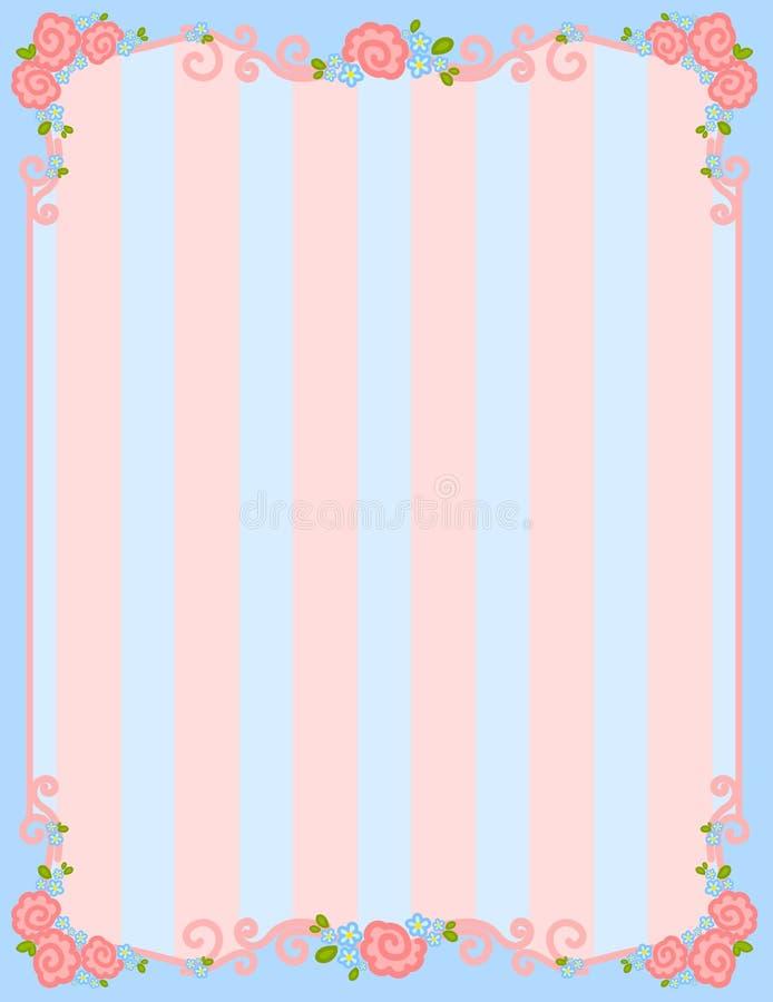 De dagframe van de valentijnskaart `s royalty-vrije illustratie