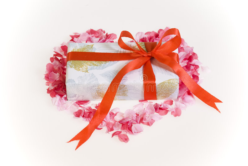 De daggift van valentijnskaarten stock afbeelding