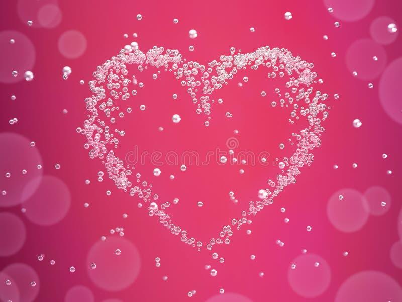 De dagkaart van Valentineâs royalty-vrije stock afbeeldingen