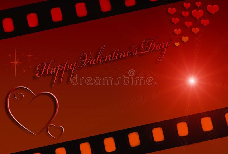 De Dagkaart van Valentine royalty-vrije stock fotografie