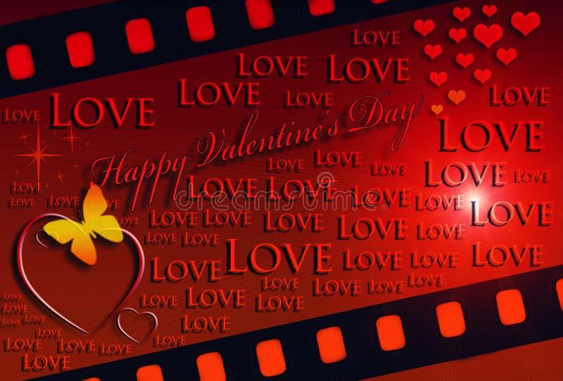 De Dagkaart van Valentine stock foto's