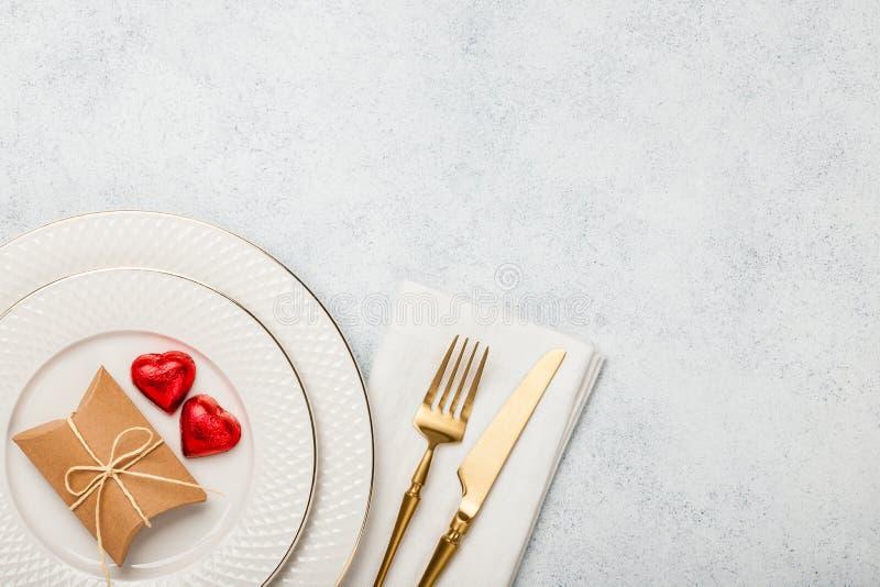 De Daglijst van Valentine ` s het plaatsen stock foto