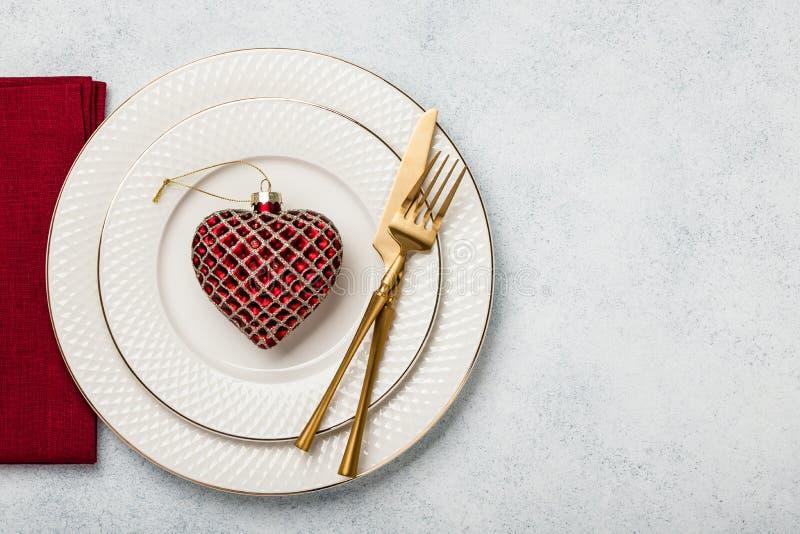 De Daglijst van Valentine ` s het plaatsen royalty-vrije stock afbeelding