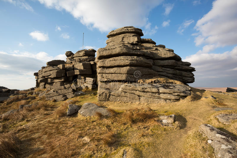 Grote Mis Piek Dartmoor stock foto