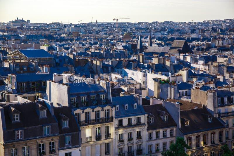 De daken van Parijs royalty-vrije stock foto