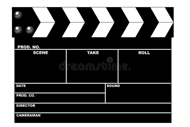 De dakspaan van de film vector illustratie