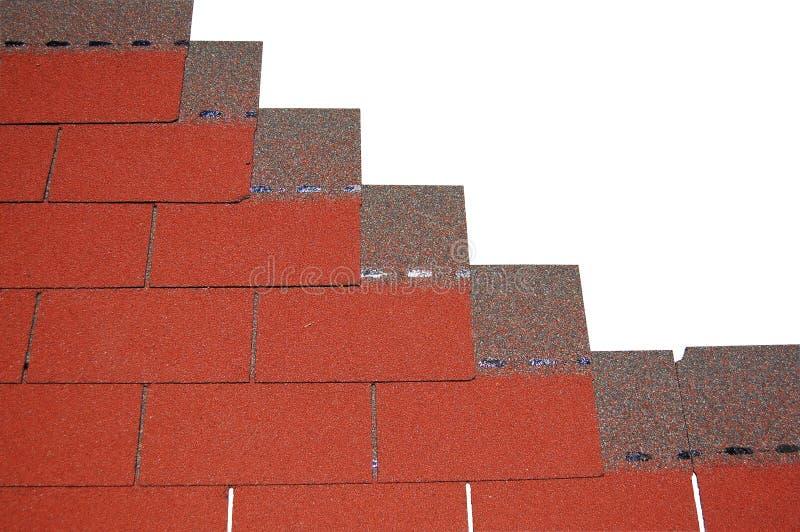 De Dakspanen van het dakwerk stock afbeelding