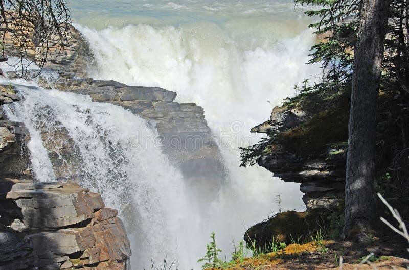 De Daling van Athabasca stock afbeeldingen