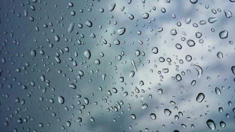 De daling van de regen royalty-vrije stock foto