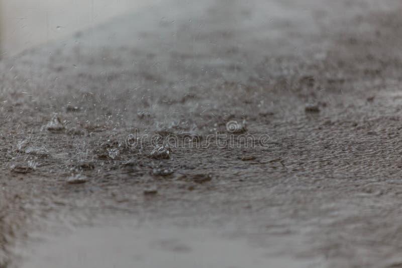 De daling van de regen royalty-vrije stock foto's