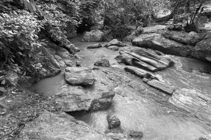 De daling van het Bamniwater, Purulia, West-Bengalen - India royalty-vrije stock fotografie