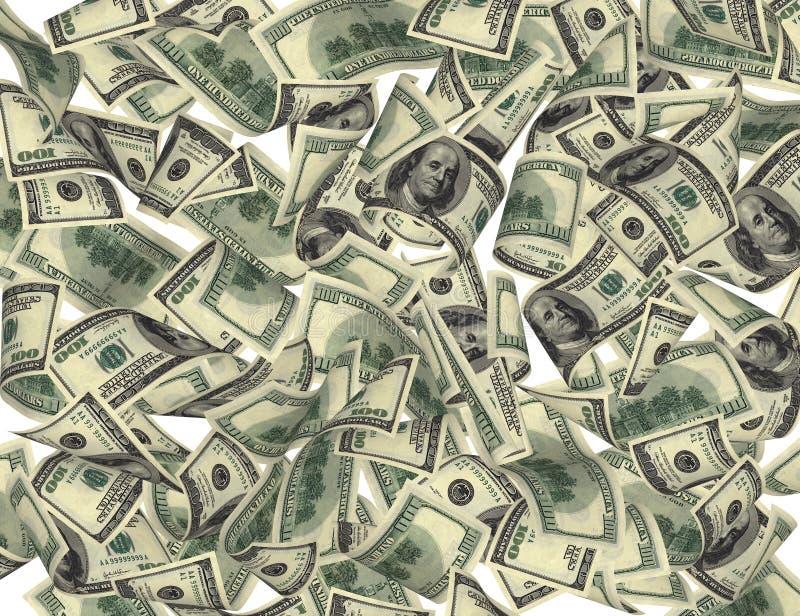 De Daling van het geld stock illustratie