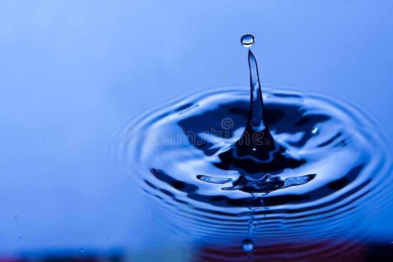 De daling van het water stock fotografie