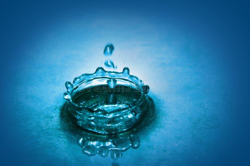 De daling van het water royalty-vrije stock foto