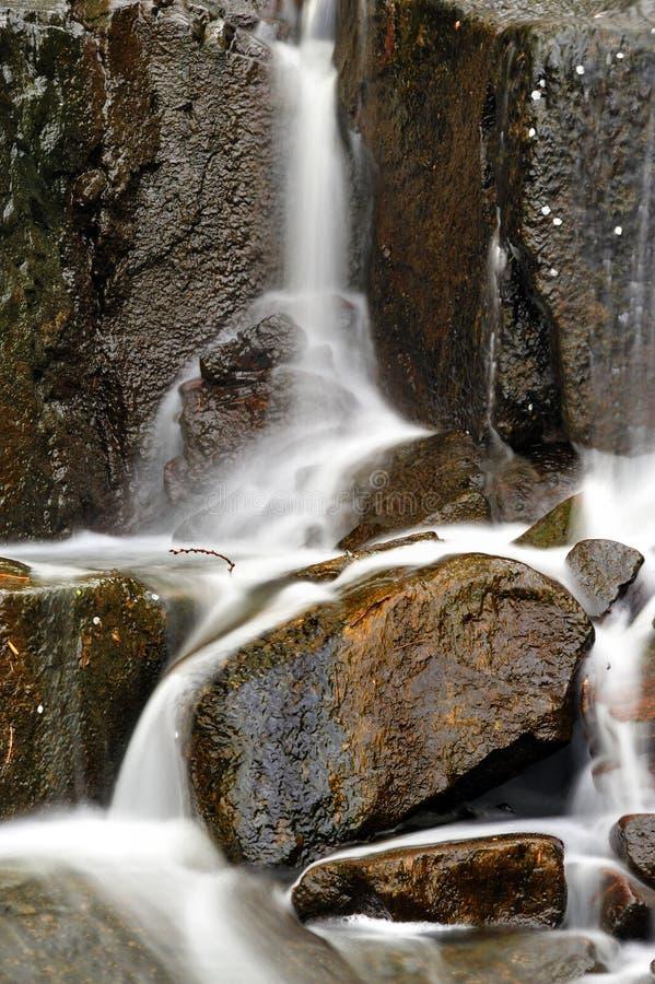De Daling van het Water van palissaden stock afbeeldingen
