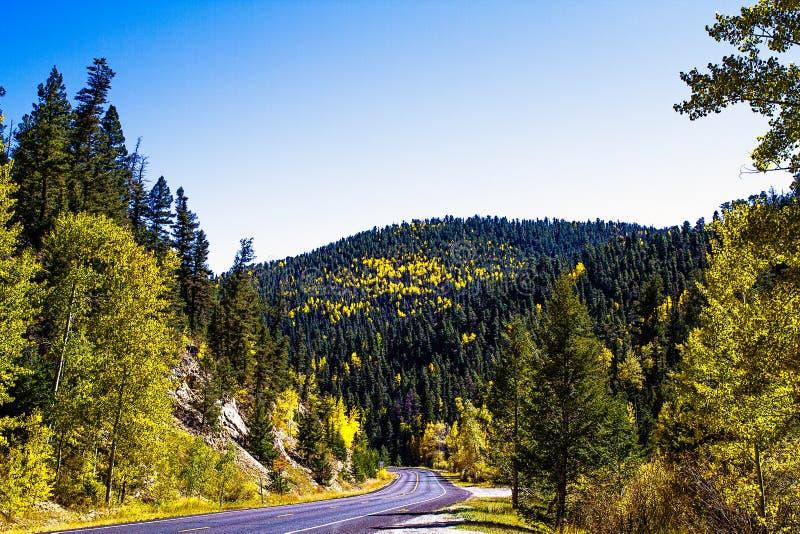 De Daling van New Mexico stock foto