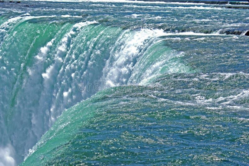 De dalingen van het water stock afbeelding