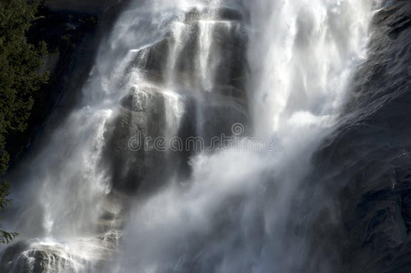 De dalingen van het water door Squamish royalty-vrije stock afbeeldingen