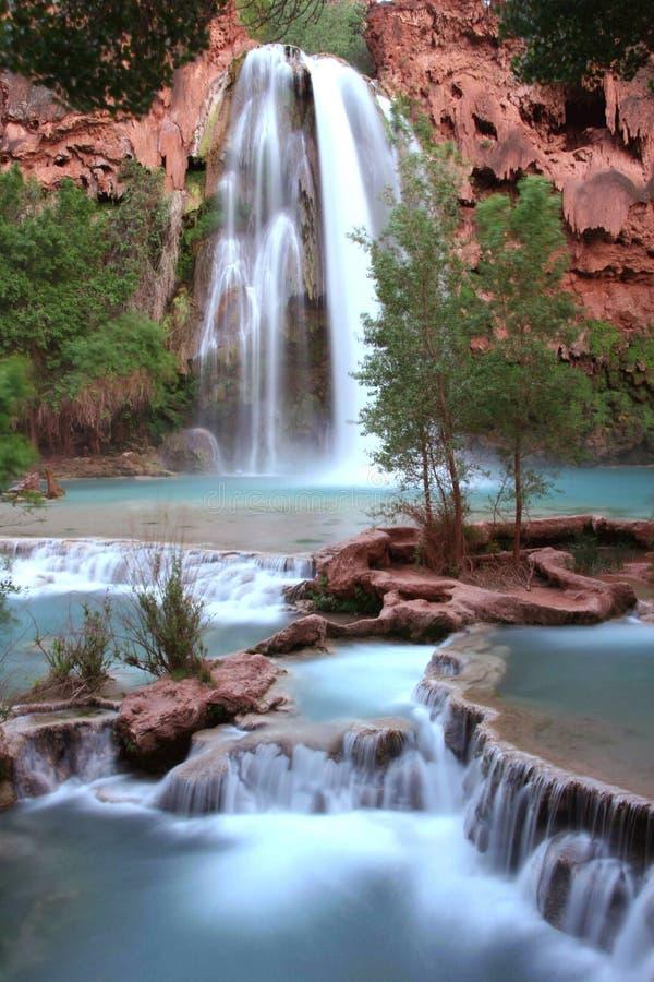 De dalingen van Nevada bij schemer royalty-vrije stock foto