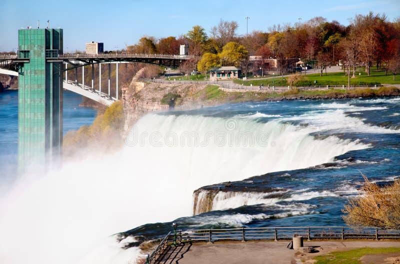 De dalingen van Niagara stock afbeelding