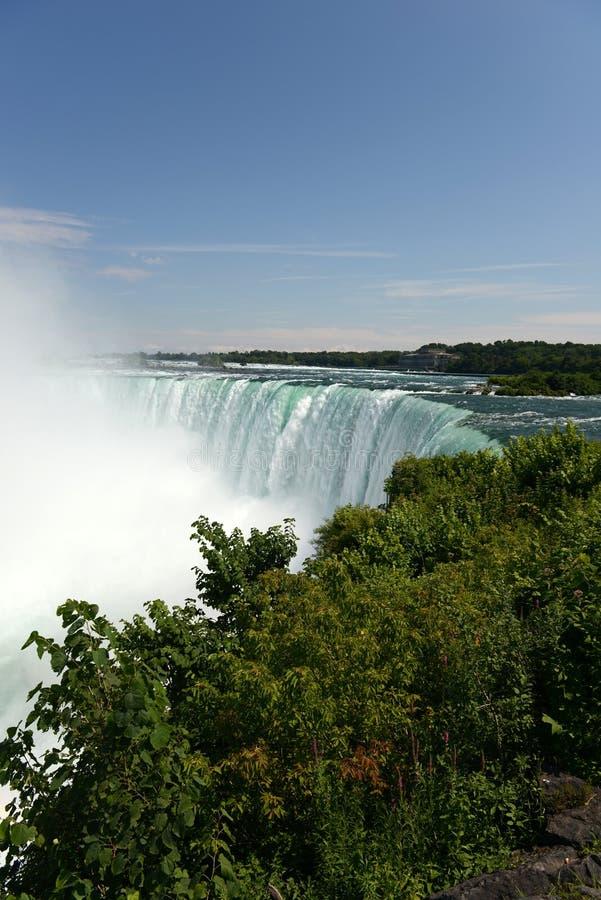 De dalingen van Niagara royalty-vrije stock afbeeldingen