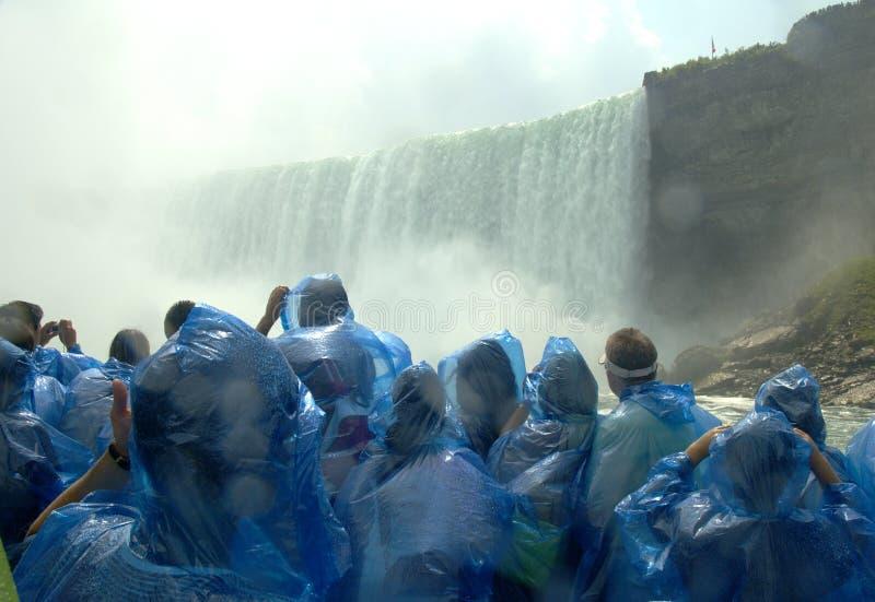 De dalingen van Niagara stock afbeeldingen