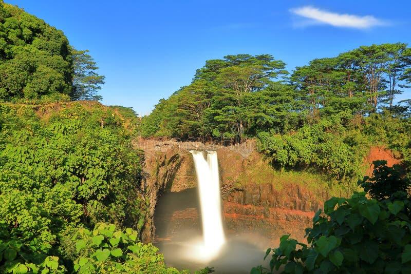 De Dalingen van de regenboog van Hawa? royalty-vrije stock foto's