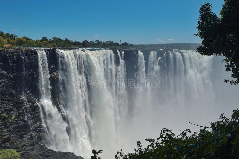 De Dalingen van Victoria, Zimbabwe royalty-vrije stock foto's