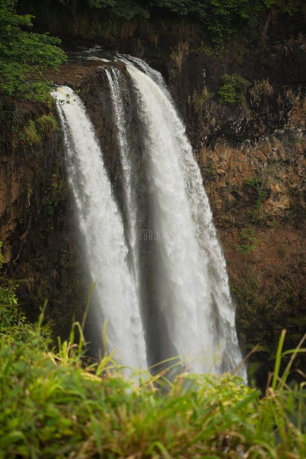 De Dalingen van Wailua royalty-vrije stock afbeelding