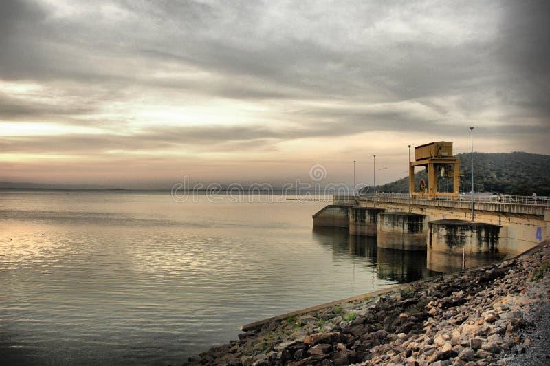 De Dam Thailand van Ubonrat royalty-vrije stock afbeelding