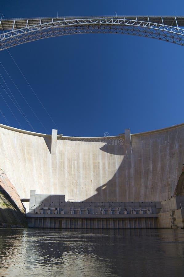 De Dam van de Canion van de nauwe vallei, Pagina, Arizona royalty-vrije stock foto