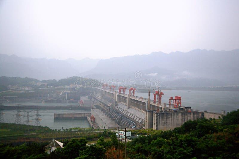 De Dam van drie Kloven royalty-vrije stock afbeelding
