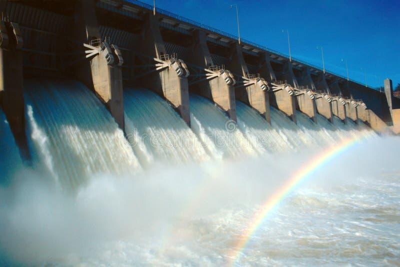 De Dam van Eufaula royalty-vrije stock afbeeldingen