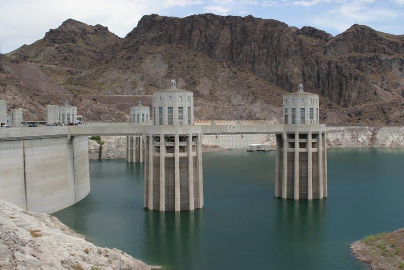 De Dam van Hoover stock afbeeldingen