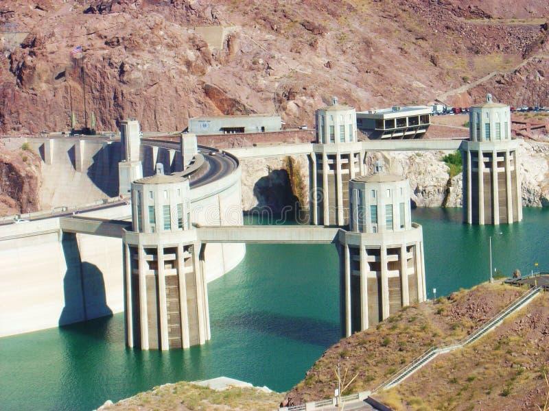 De Dam van Hoover royalty-vrije stock afbeelding