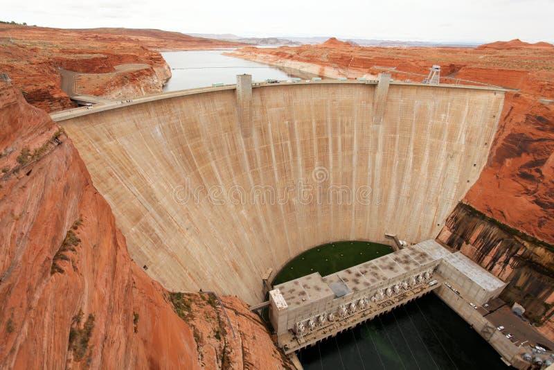 De Dam van Hoover en de Weide van het Meer royalty-vrije stock fotografie